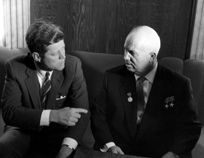 #JFK_Kruschev
